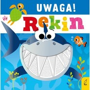 okładka Uwaga! Rekin, Książka   Greening Rosie