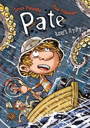 okładka Pate łowi ryby, Książka   Parvela Timo