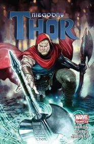 okładka Niegodny Thor, Książka | Aaron Jason