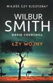 okładka Łzy wojny, Książka | Wilbur Smith