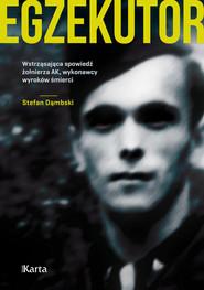 okładka Egzekutor, Książka   Stefan  Dąmbski