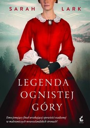 okładka Legenda ognistej góry, Książka | Sarah Lark