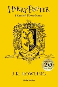 okładka Harry Potter i kamień filozoficzny Hufflepuff, Książka | Joanne K. Rowling