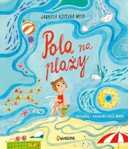 okładka Pola na plaży, Książka | Rzepecka Gabriela