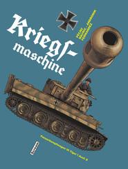 okładka Kriegsmaschine Panzerkampfwagen VI Tiger i Ausf. E, Książka   Damien Mavric, Fernandez