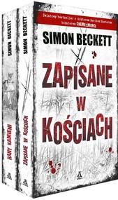 okładka Zapisane w kościach / Rany kamieni Pakiet, Książka | Simon Beckett