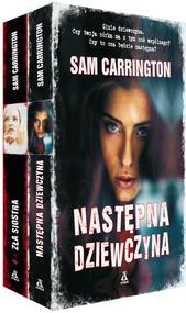 okładka Następna dziewczyna / Zła siostra Pakiet, Książka | Sam Carrington