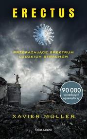 okładka Erectus, Książka | Muller Xavier