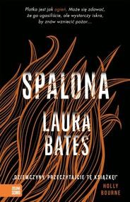 okładka Spalona, Książka | Bates Laura