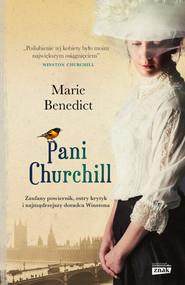okładka Pani Churchill, Książka | Marie Benedict