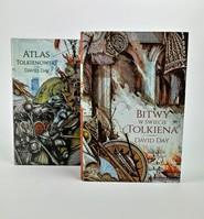 okładka Pakiet Atlas Tolkienowski/Bitwy w świecie Tolkiena, Książka | Day David