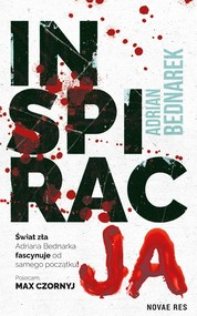 okładka Inspiracja, Książka | Adrian  Bednarek