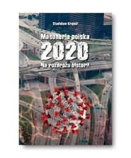 okładka Masoneria polska 2020 Na rozdrożu historii, Książka | Krajski Stanisław