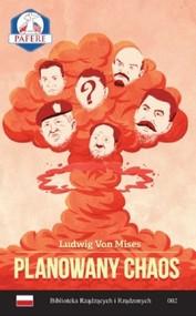 okładka Planowany chaos, Książka | Mises Ludwig von