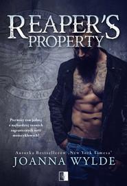 okładka Reaper's Property, Książka | Joanna  Wylde