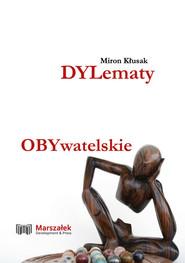 okładka Dylematy obywatelskie, Książka | Kłusak Miron