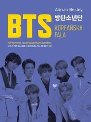 okładka BTS Koreańska fala, Książka   Besley Adrian