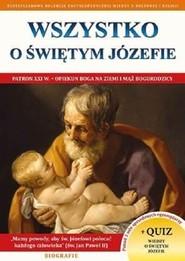 okładka Wszystko o św. Józefie, Książka |