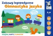 okładka Gimnastyka języka Zabawy logopedyczne Kapitan Nauka, Książka   Sobkowiak Monika