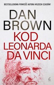 okładka Kod Leonarda da Vinci, Książka | Dan Brown
