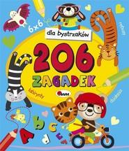 okładka Dla bystrzaków 206 zagadek, Książka | Czarnecka Jolanta