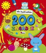 okładka Dla bystrzaków 200 zagadek, Książka | Czarnecka Jolanta