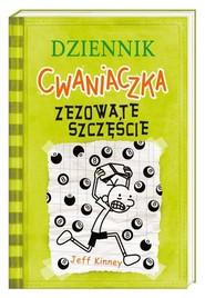 okładka Dziennik cwaniaczka Zezowate szczęście, Książka | Jeff Kinney
