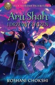 okładka Aru Shah i Drzewo Życzeń Kroniki Pandawów Tom 3, Książka | Roshani Chokshi