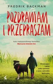 okładka Pozdrawiam i przepraszam, Książka | Backman Fredrick