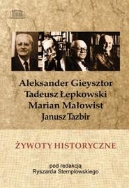 okładka Żywoty historyczne, Książka |
