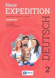 okładka Neue Expedition Deutsch 2 Podęcznik Szkoły ponadgimnazjalne, Książka   Jacek Betleja, Irena Nowicka, Dorota Wieruszewska