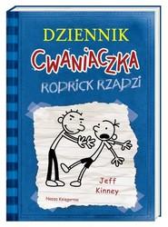 okładka Dziennik cwaniaczka Rodrick rządzi, Książka | Jeff Kinney