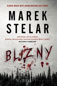 okładka Blizny, Książka | Marek Stelar