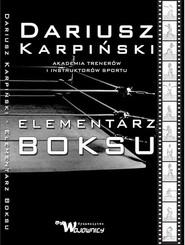 okładka Elementarz Boksu, Książka | Karpiński Dariusz