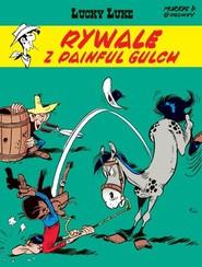 okładka Lucky Luke Rywale z Painful Gulch, Książka | René Goscinny, Morris