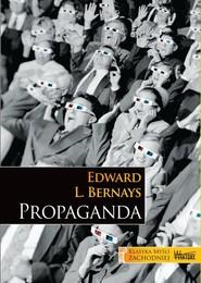 okładka Propaganda, Książka   Edward L. Bernays