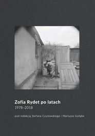 okładka Zofia Rydet po latach. 1978-2018, Książka |