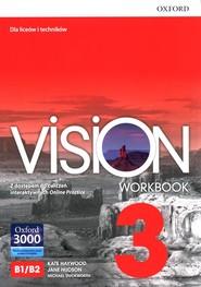 okładka Vision 3 Workbook Liceum technikum, Książka | Kate Haywood, Jane Hudson