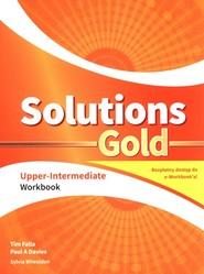 okładka Solutions Gold Upper-Intermediate Workbook + e-Workbook, Książka | Tim Falla, Paul A Davies, Sylvia Wheeldon