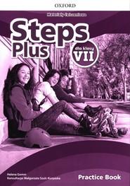 okładka Steps Plus 7 Materiały ćwiczeniowe + Online Practice Szkoła podstawowa, Książka | Gomm Helena