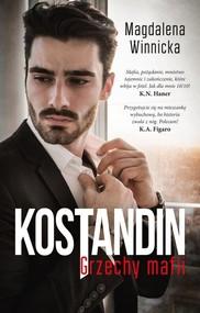 okładka Kostandin Grzechy mafii, Książka   Winnicka Magdalena