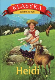 okładka Heidi, Książka   Johanna  Spyri