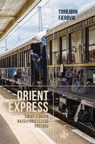 okładka Orient Express, Książka | Farovik Torbjorn