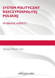okładka System polityczny Rzeczypospolitej Polskiej Wybrane aspekty., Książka | Plecka Danuta