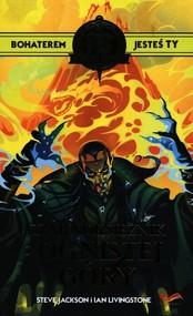 okładka Fighting Fantasy Czarnoksiężnik z Ognistej Góry, Książka   Jackson Steve, Ian Livingstone