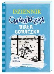 okładka Dziennik cwaniaczka Biała gorączka, Książka | Jeff Kinney