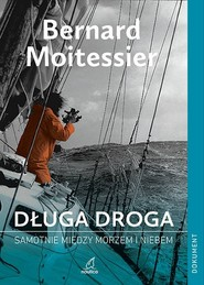 okładka Długa droga, Książka | Moitessier Bernard