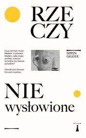 okładka Rzeczy niewysłowione, Książka | Soren Gauger