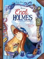 okładka Śledztwa Enoli Holmes Tom 2 Sprawa Lady Alistair, Książka |