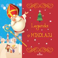 okładka Legenda o Mikołaju, Książka | Szewczyk Małgorzata